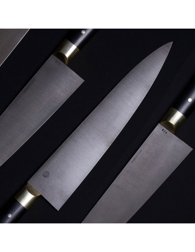LS626 Classic Chef Knife limited edition in Damasteel stainless damascus.